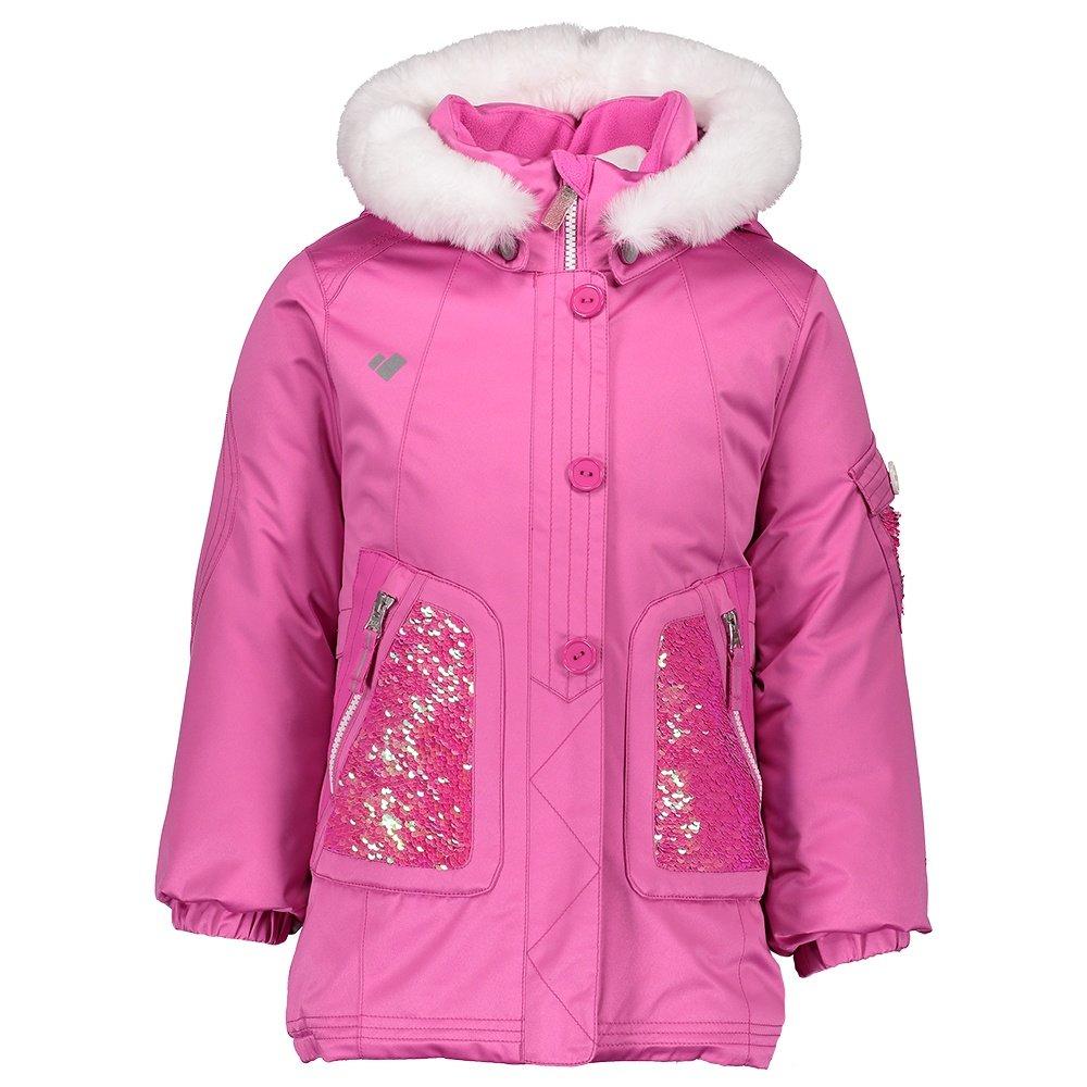 Obermeyer Sparkle-Girl Insulated Ski Jacket (Little Girls') - Pinky Promise
