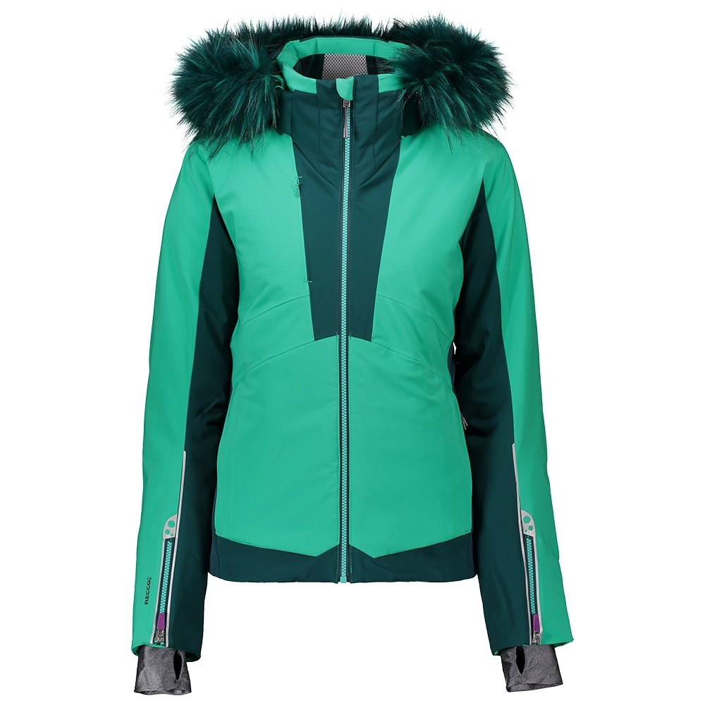 Obermeyer Malaki Insulated Ski Jacket with Faux Fur (Women's) - Lets Galapago