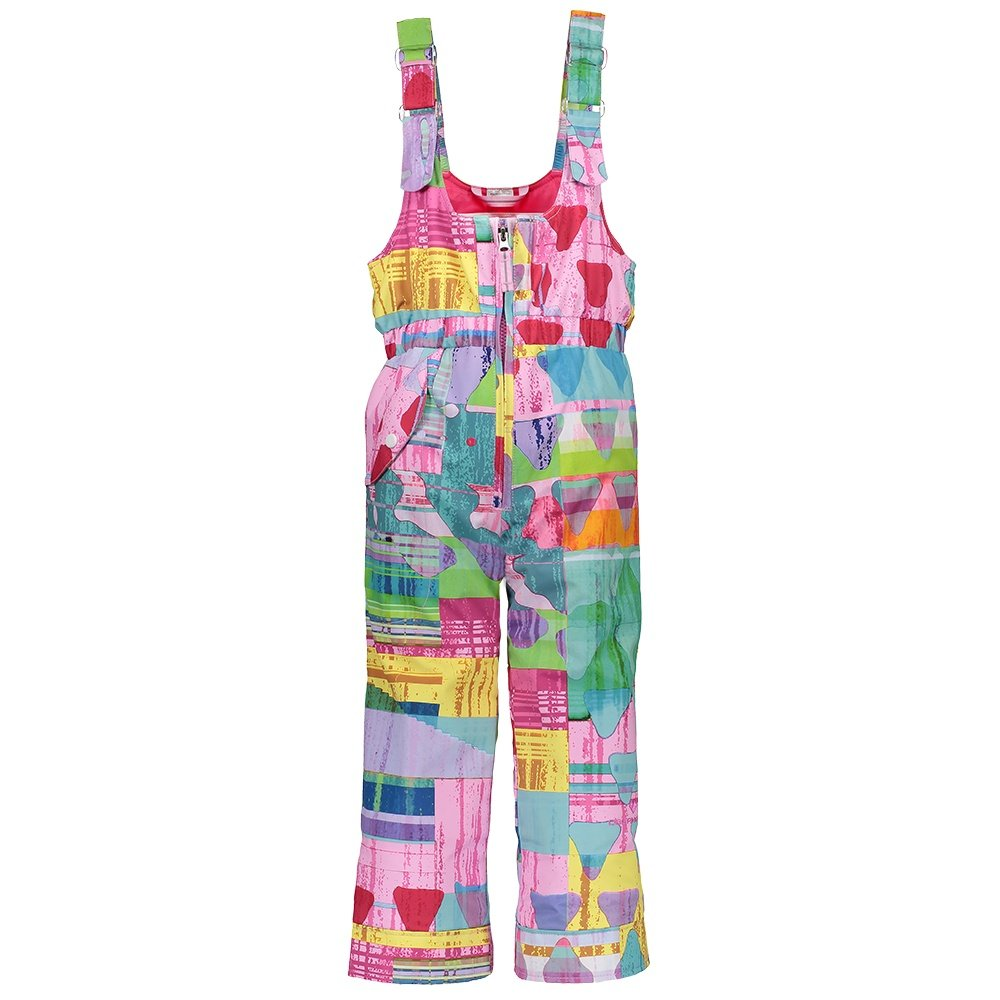 Obermeyer Snoverall Insulated Print Ski Pant (Little Girls') - Candy Land