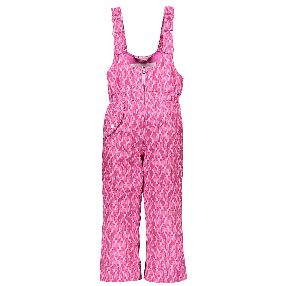 Obermeyer Snoverall Insulated Print Ski Pant (Little Girls') - Pink and Pinker