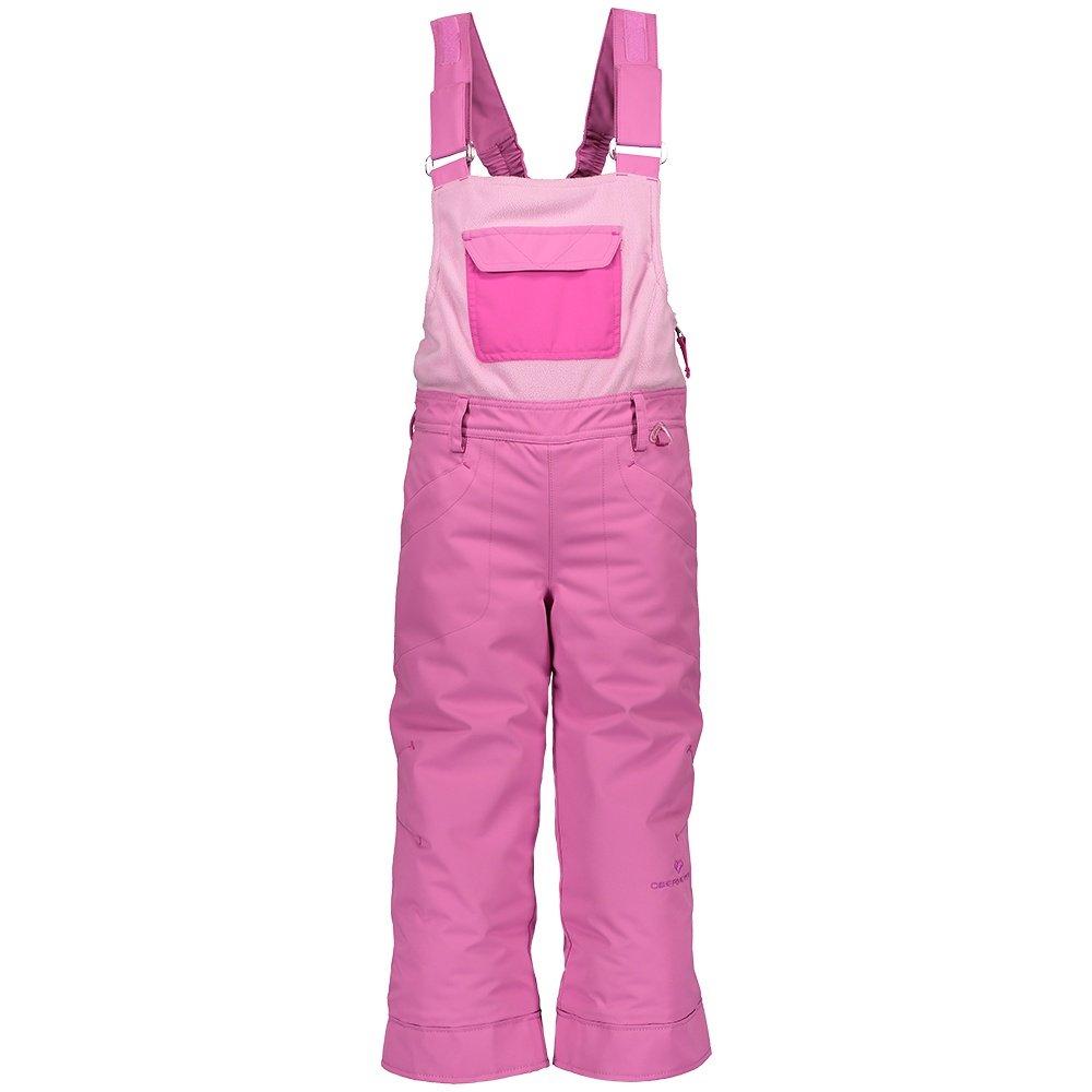 Obermeyer Disco Insulated Ski Bib (Little Girls') - Pinky Promise