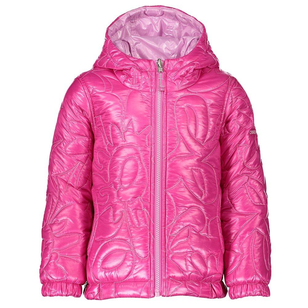 Obermeyer Nifty Reversible Insulator Jacket (Little Girls') - Berried Treasure