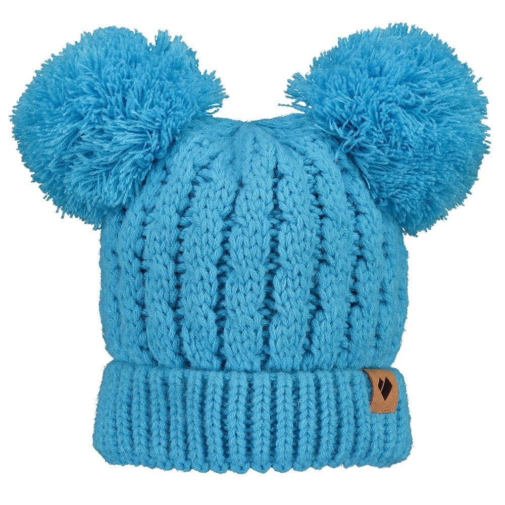 b0e9316ea Obermeyer Fayetteville Knit Double Pom Beanie (Little Girls ...