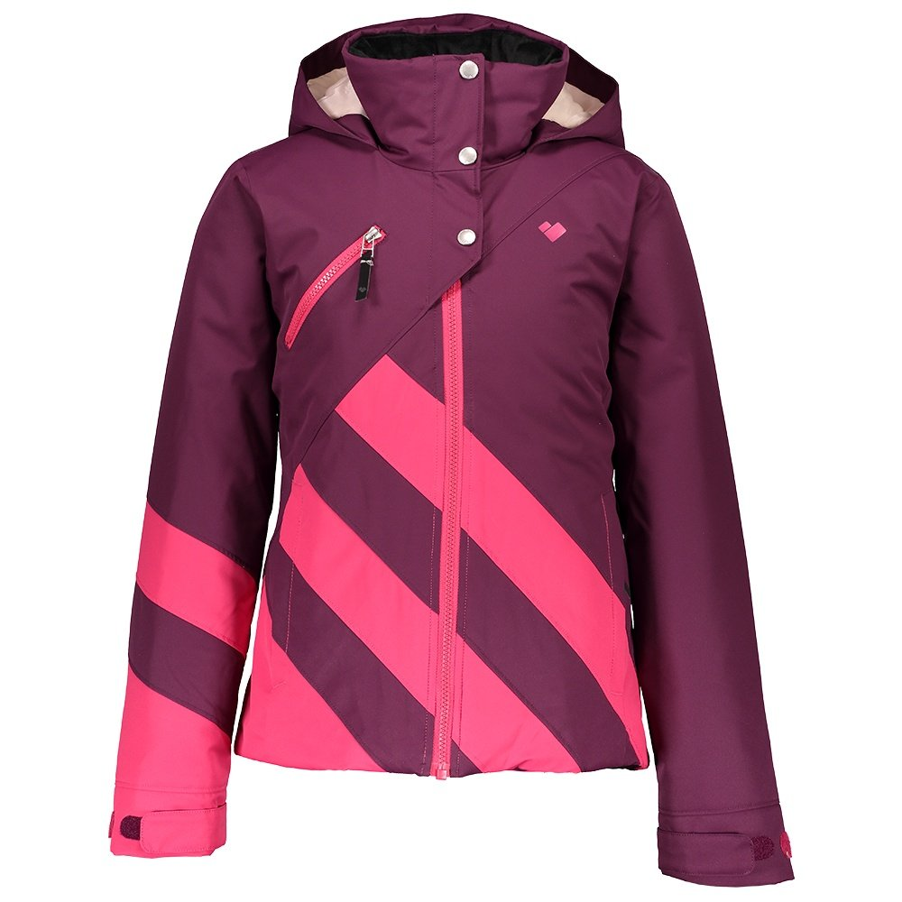 Obermeyer Tabor Insulated Ski Jacket (Girls') - Drop the Beet