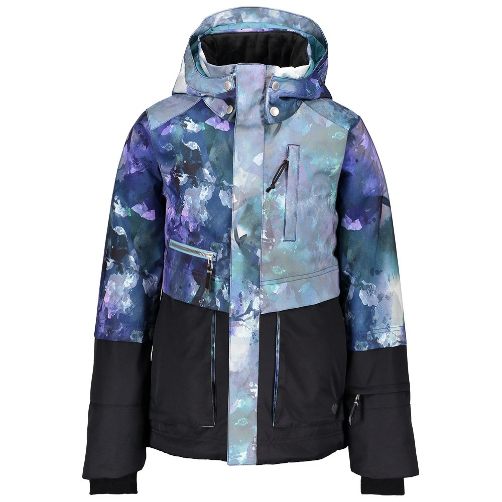 Obermeyer June Insulated Ski Jacket (Girls') - Watercolor Floral