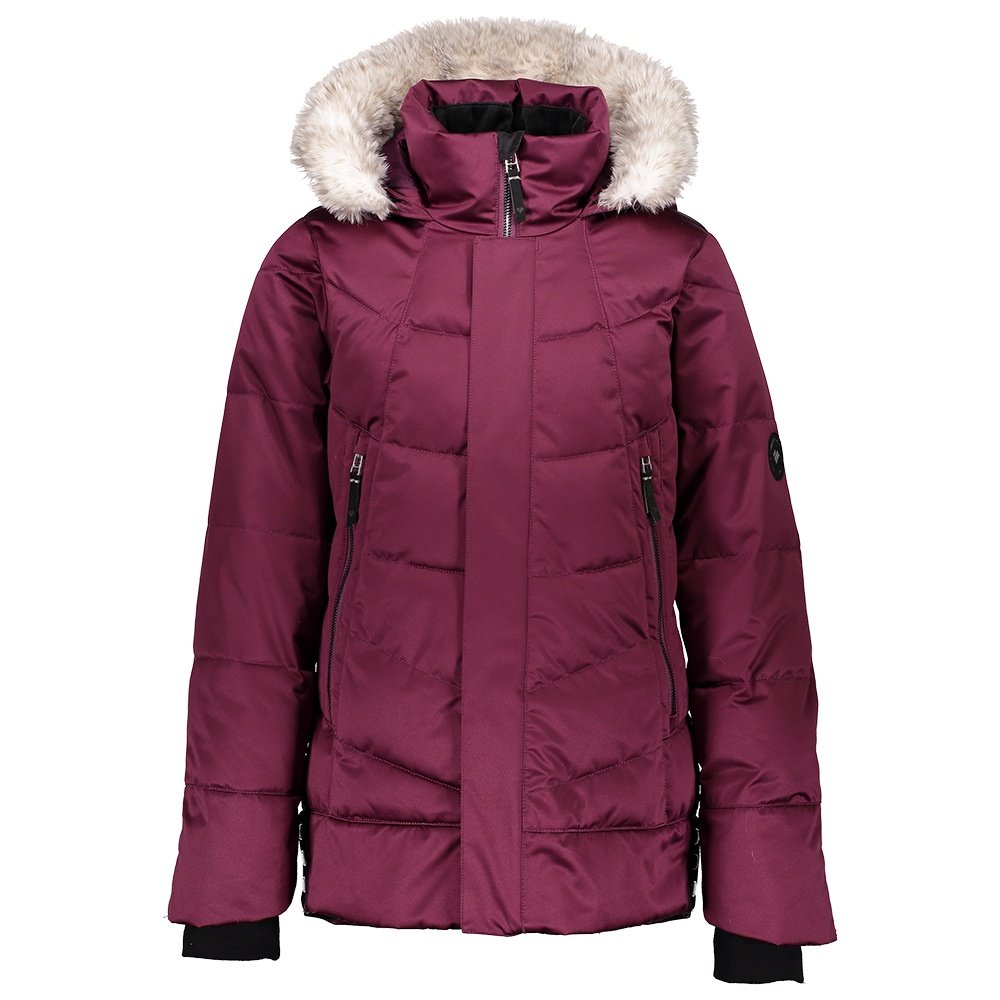 Obermeyer Meghan Insulated Ski Jacket (Girls') - Drop the Beet