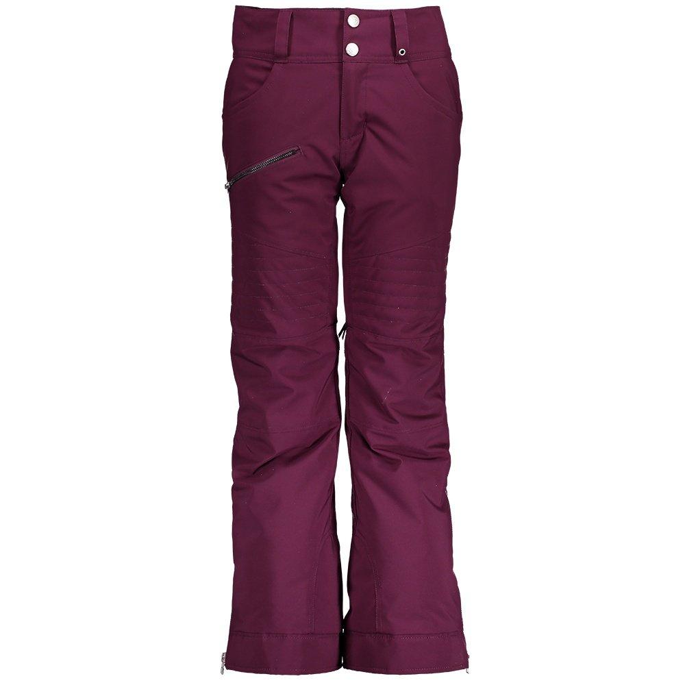 Obermeyer Jessi Insulated Ski Pant (Girls') - Drop the Beet