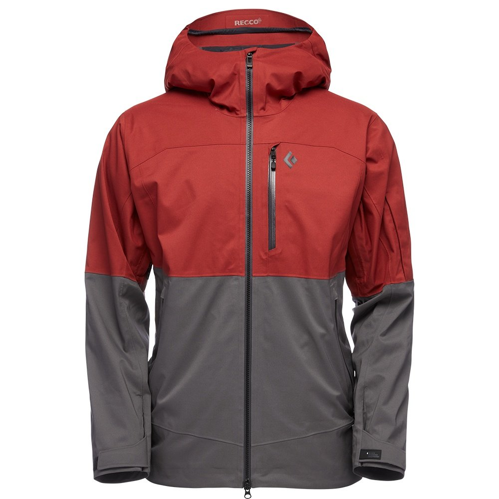Black Diamond BoundaryLine Mapped Insulated Ski Jacket (Men's) - Red Oxide