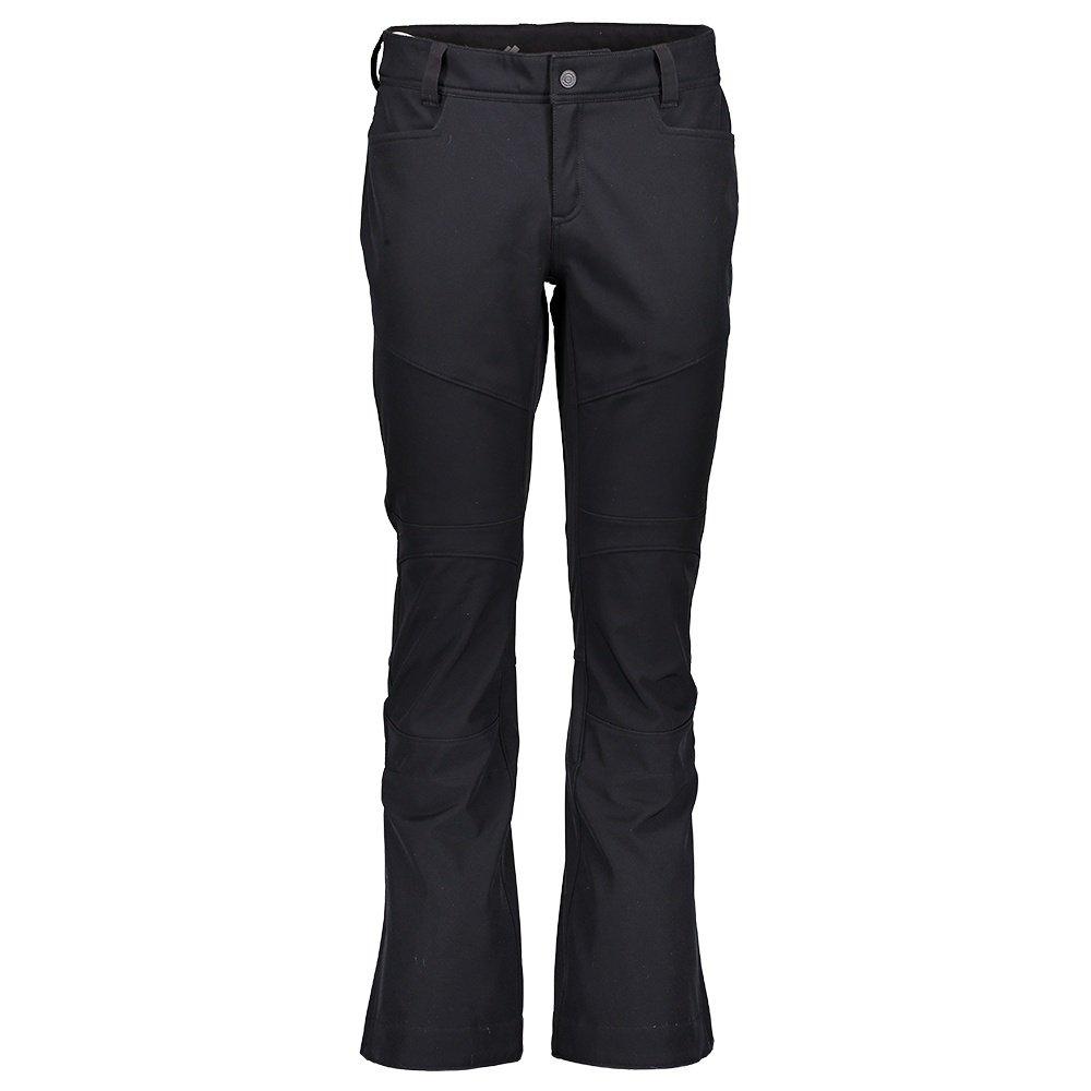 Obermeyer Glyph Tech Softshell Ski Pant (Women's) - Black
