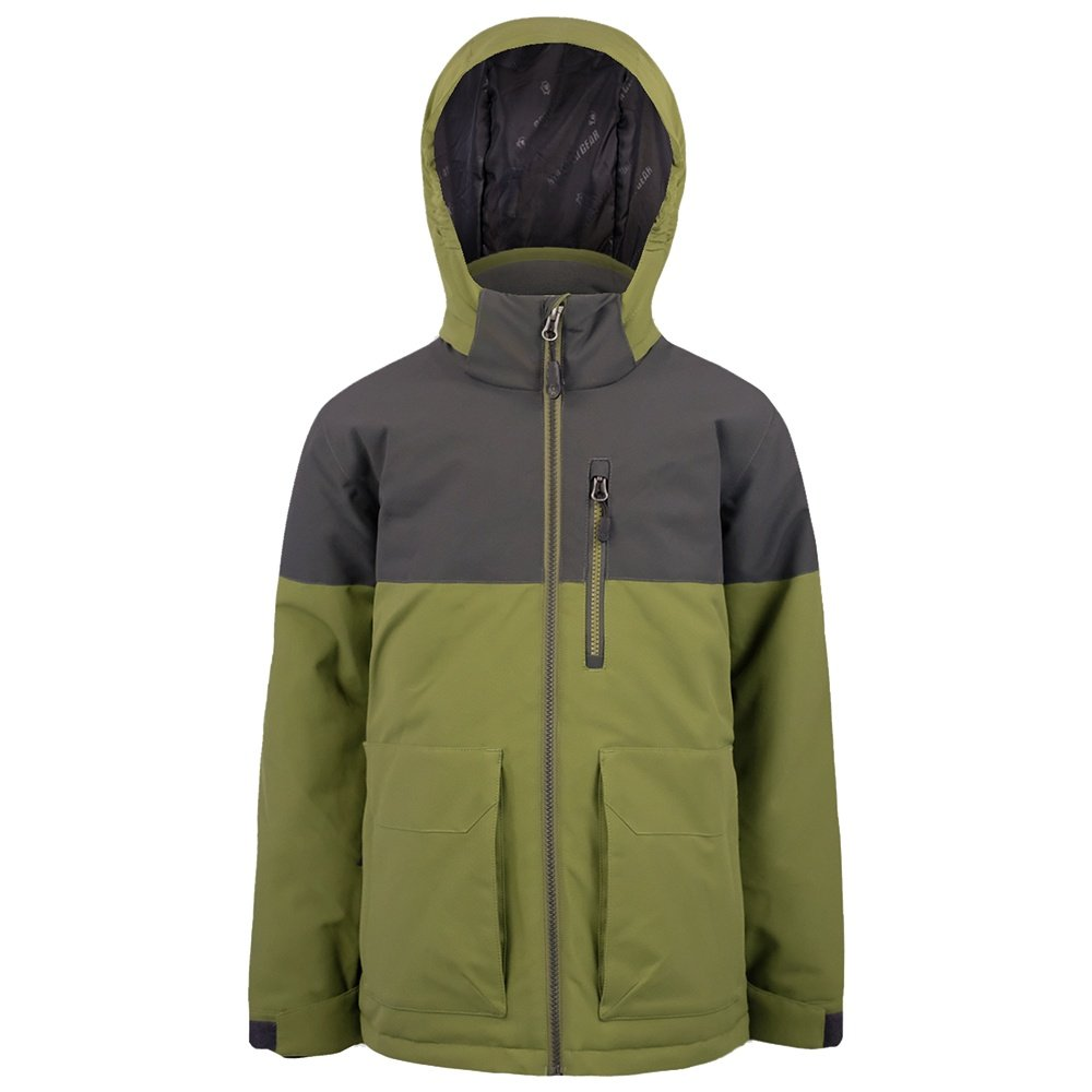 Boulder Gear Rollins Insulated Ski Jacket (Boys') - Seaweed Green