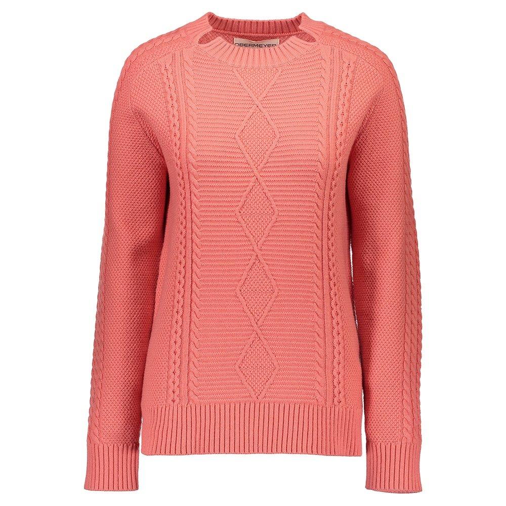 Obermeyer Tristan Cable Knit Sweater (Women's) - Spritz