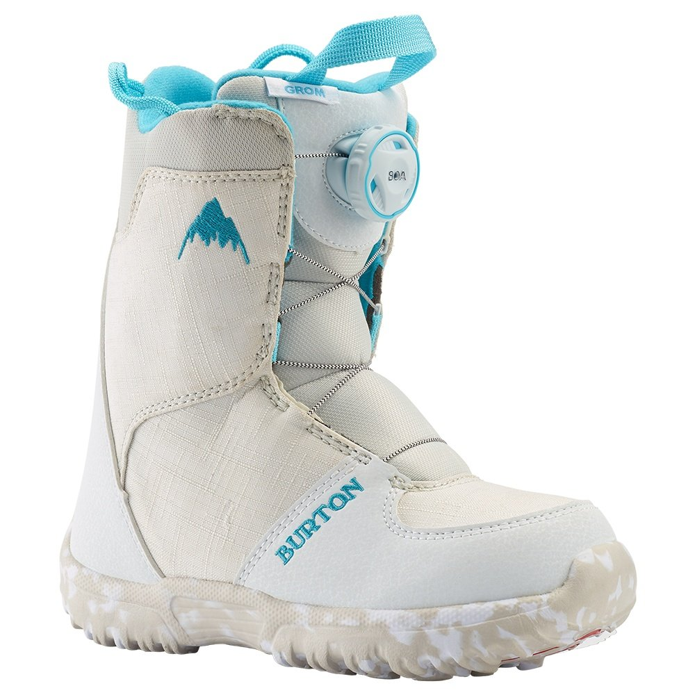 Burton Grom Boa Snowboard Boot (Little Kids') - White