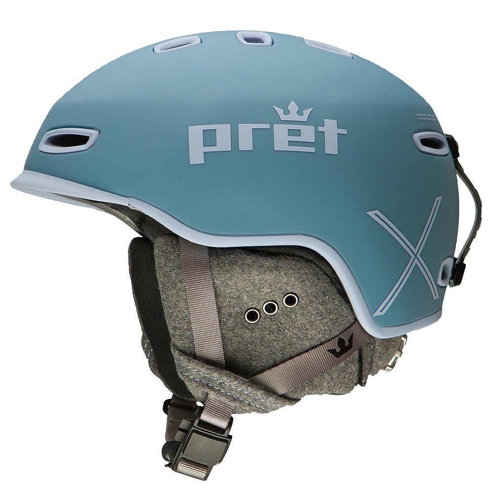 Pret Lyric X Helmet (Women's) - Dusty Blue Heather