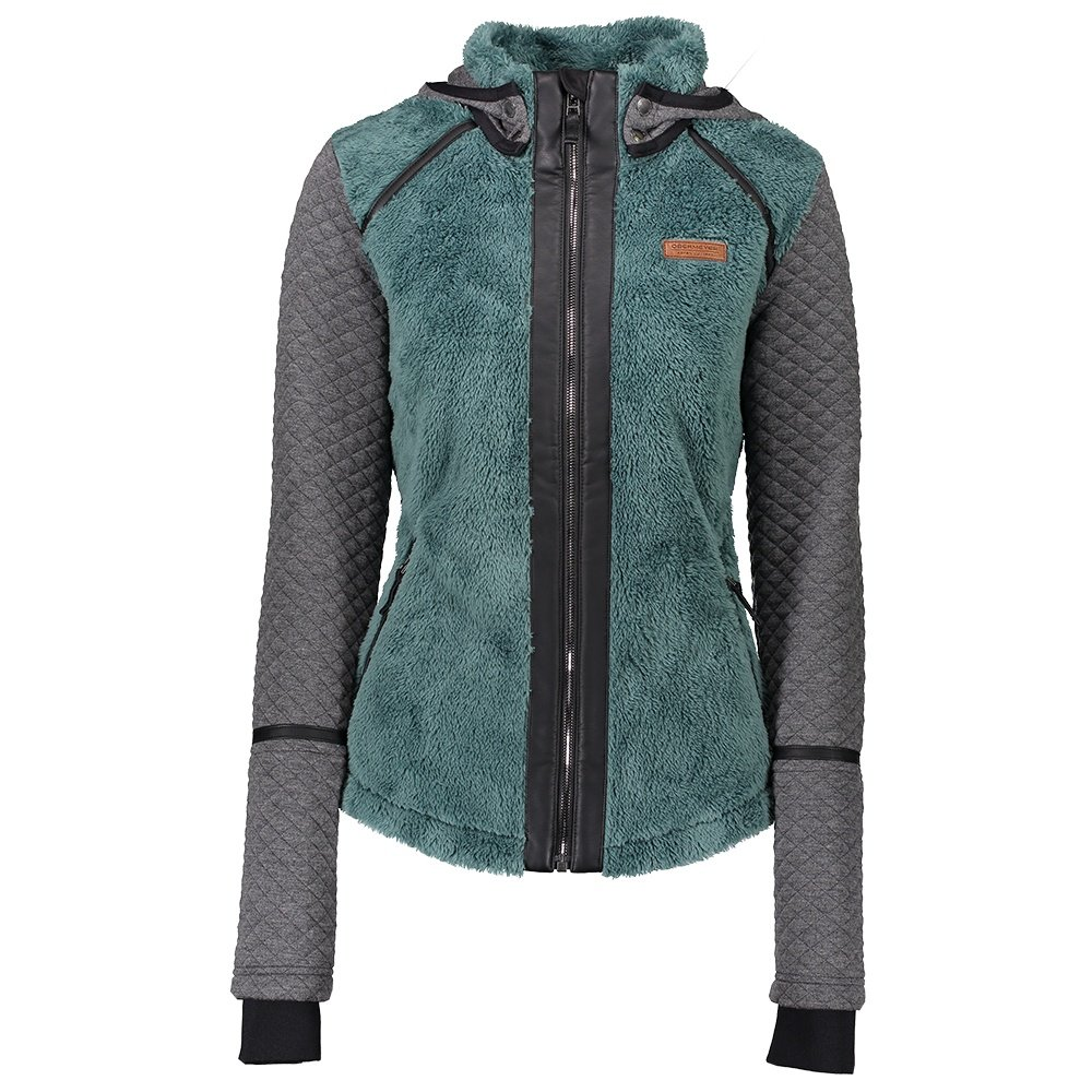 Obermeyer Stella Fleece Full Zip Jacket (Women's) - Sage