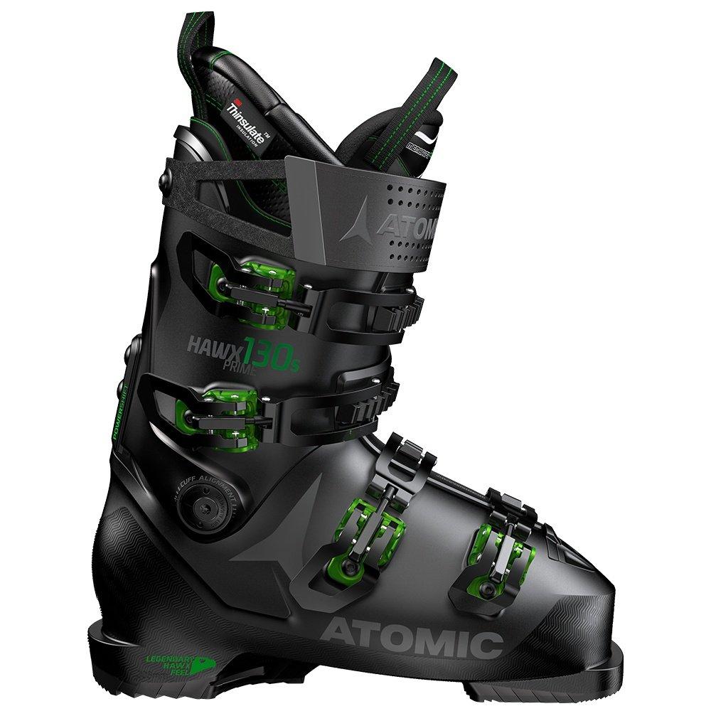 Atomic Hawx Prime 130S Ski Boot (Men's) - Black/Green