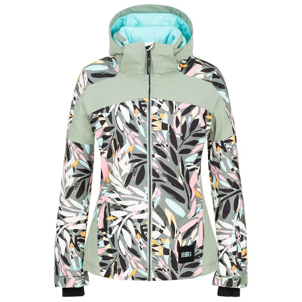 O'Neill Wavelite Insulated Snowboard Jacket (Women's) - Pink/Black