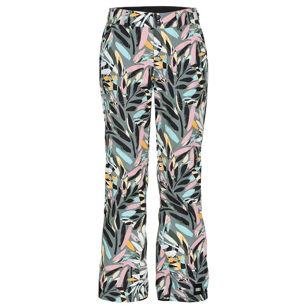 O'Neill Glamour Shell Snowboard Pants (Women's) - Pink/Black