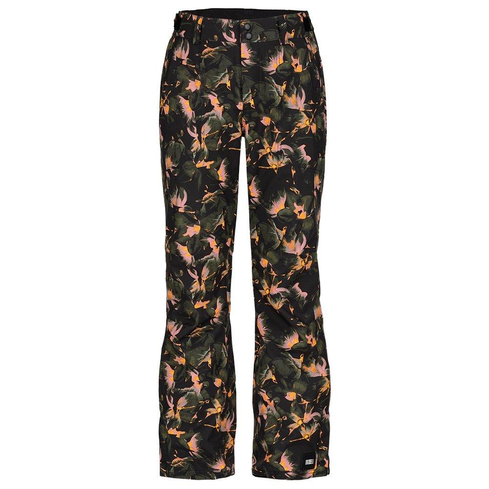 O'Neill Glamour Shell Snowboard Pants (Women's) - Black/Yellow