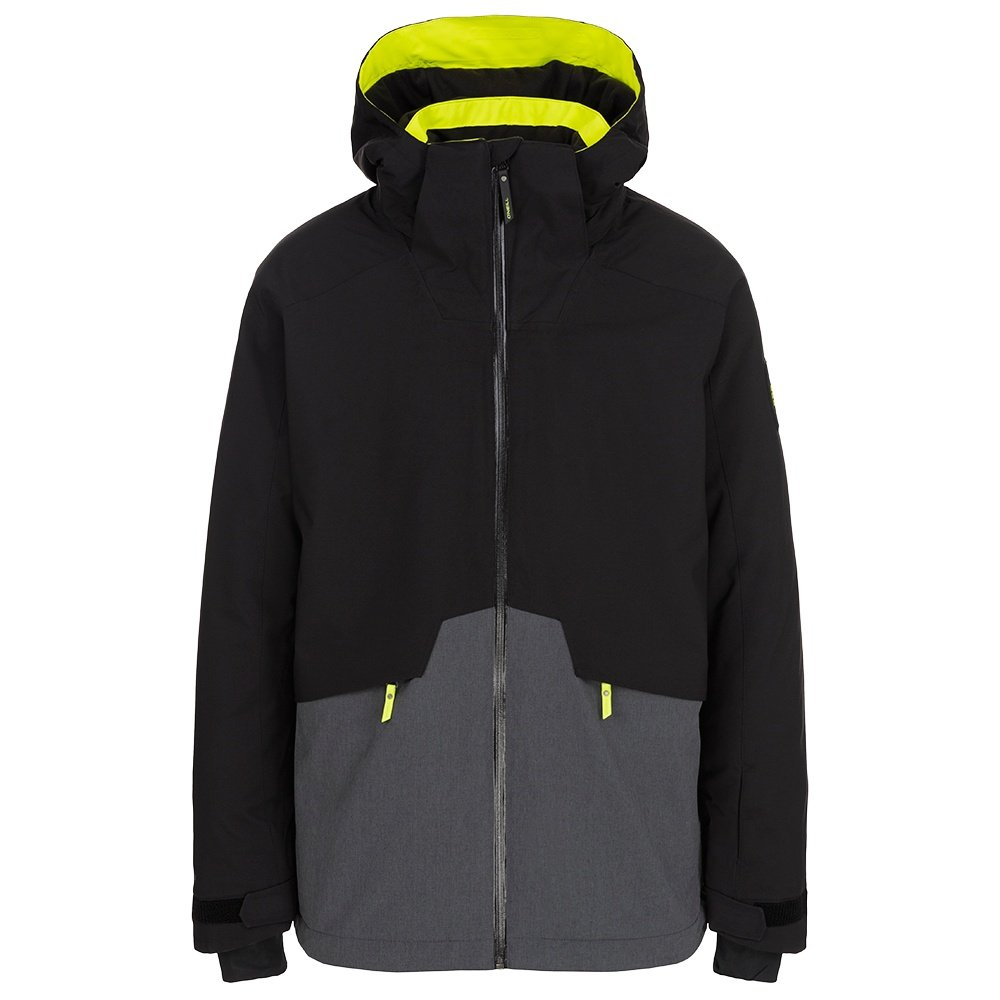O'Neill Quartzite Insulated Snowboard Jacket (Men's) - Black Out