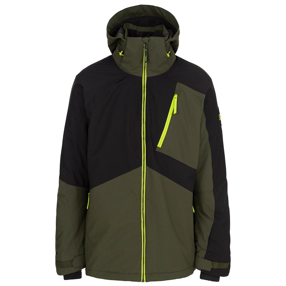 O'Neill Aplite Insulated Snowboard Jacket (Men's) - Forest Night
