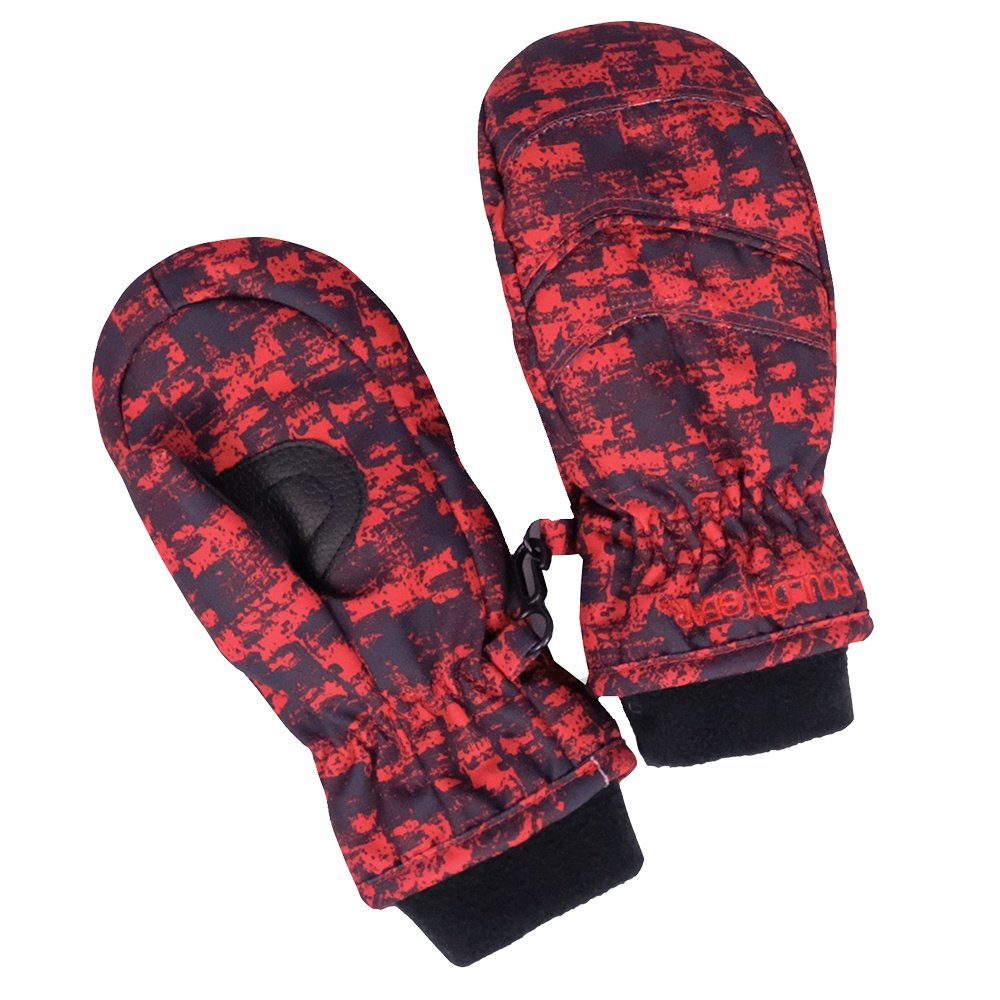 Boulder Gear Whirlwind Mitten (Little Kids') - Red Distortion