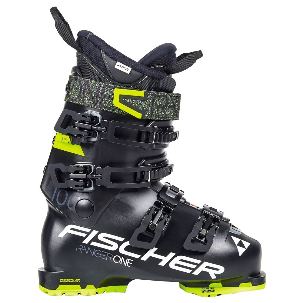 Fischer Ranger One 100 Ski Boot (Men's) - Black/Black