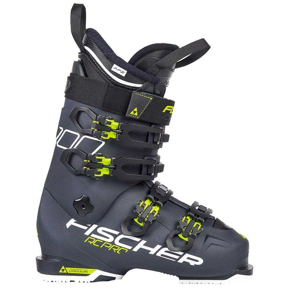 Fischer RC Pro 100 PBV Ski Boot (Men's) - Dark Grey/Dark Grey