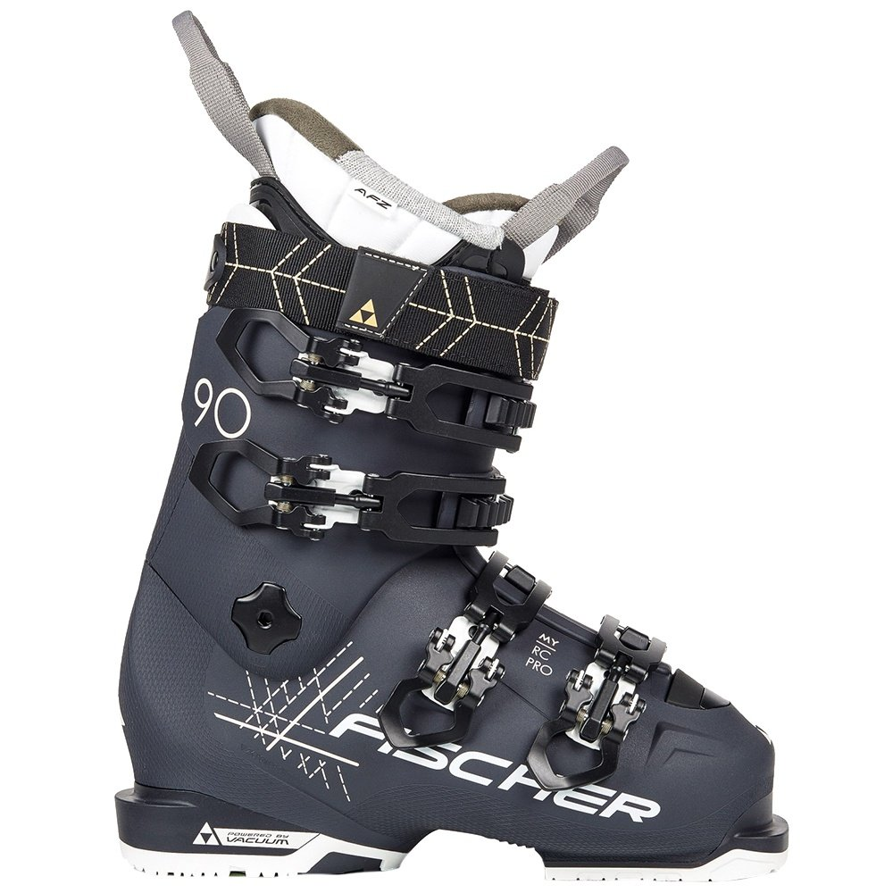 Fischer My RC Pro 90 PBV Ski Boot (Women's) - Dark Grey/Dark Grey