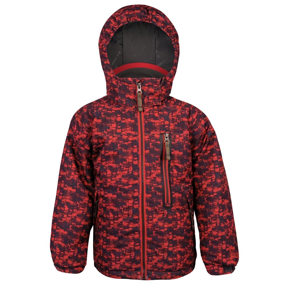 Boulder Gear Rip Roar Insulated Ski Jacket (Little Boys') - Red Distortion