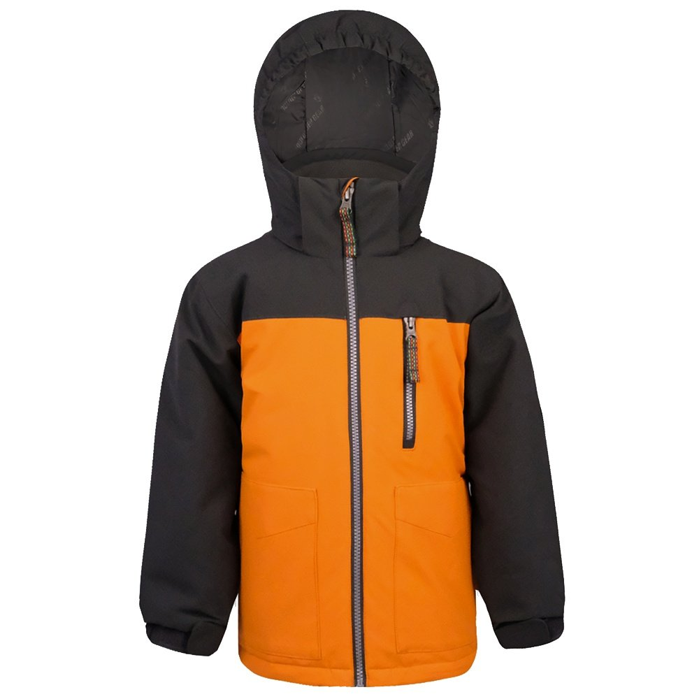 Boulder Gear Dynamo Insulated Ski Jacket (Little Boys') - Orange Sun