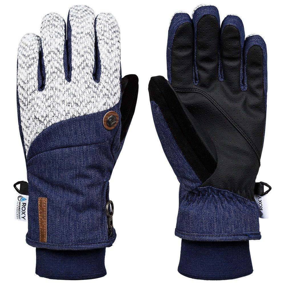 Roxy Nymeria Glove (Women's) - Mid Denim