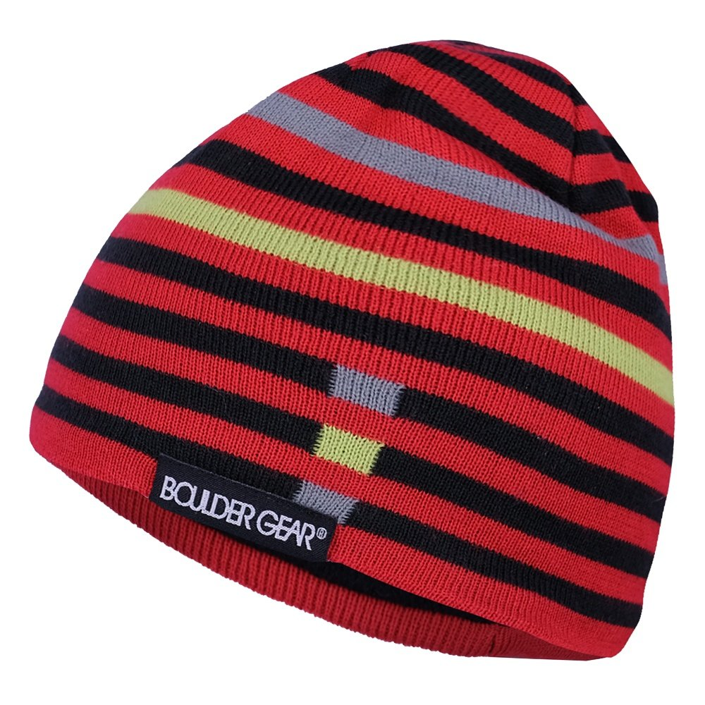 Boulder Gear Motley Beanie (Little Boys') - Crimson Red