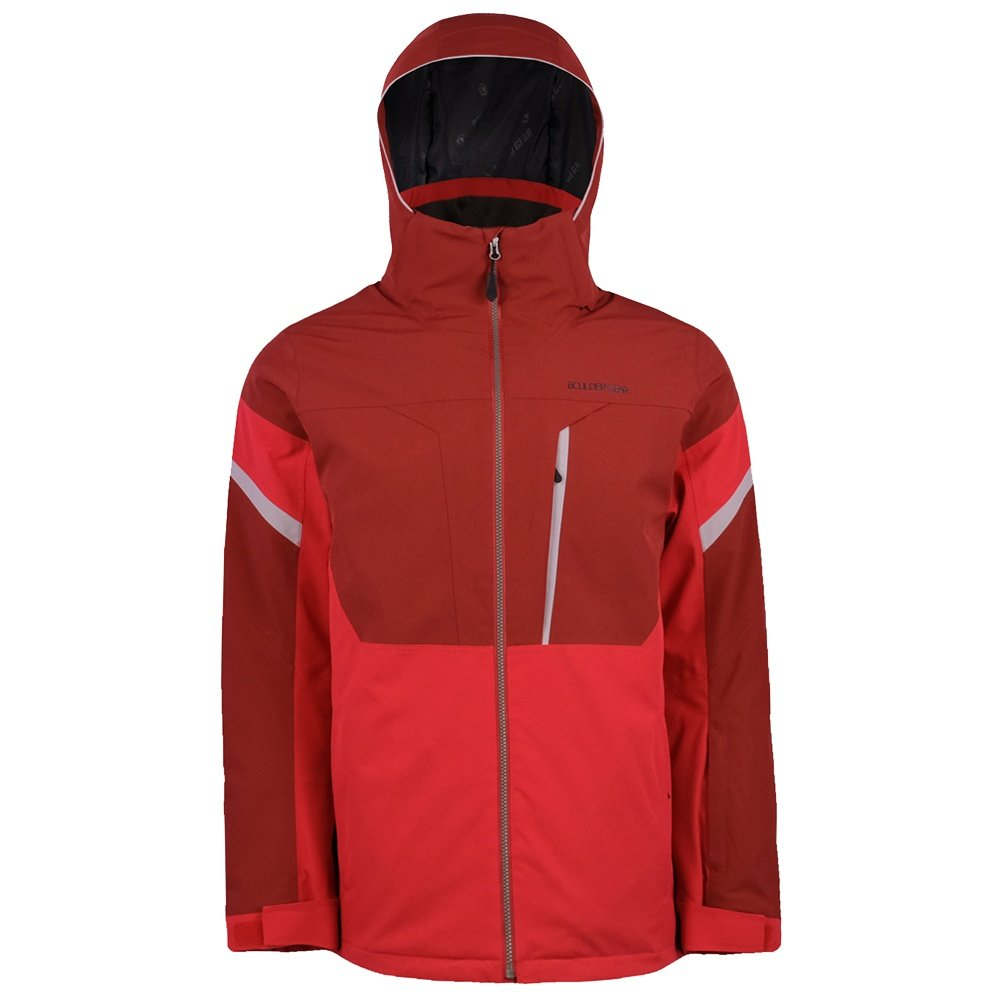 Boulder Gear Alps Tech Insulated Ski Jacket (Men's) - Crimson Red