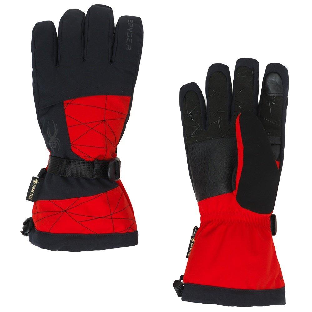 Spyder Overweb GORE-TEX Glove (Men's) - Volcano