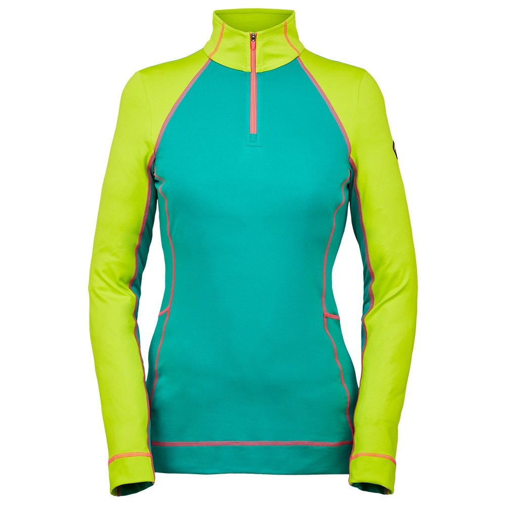 Spyder Savona 1/4-Zip Turtleneck Mid-Layer (Women's) - Scuba