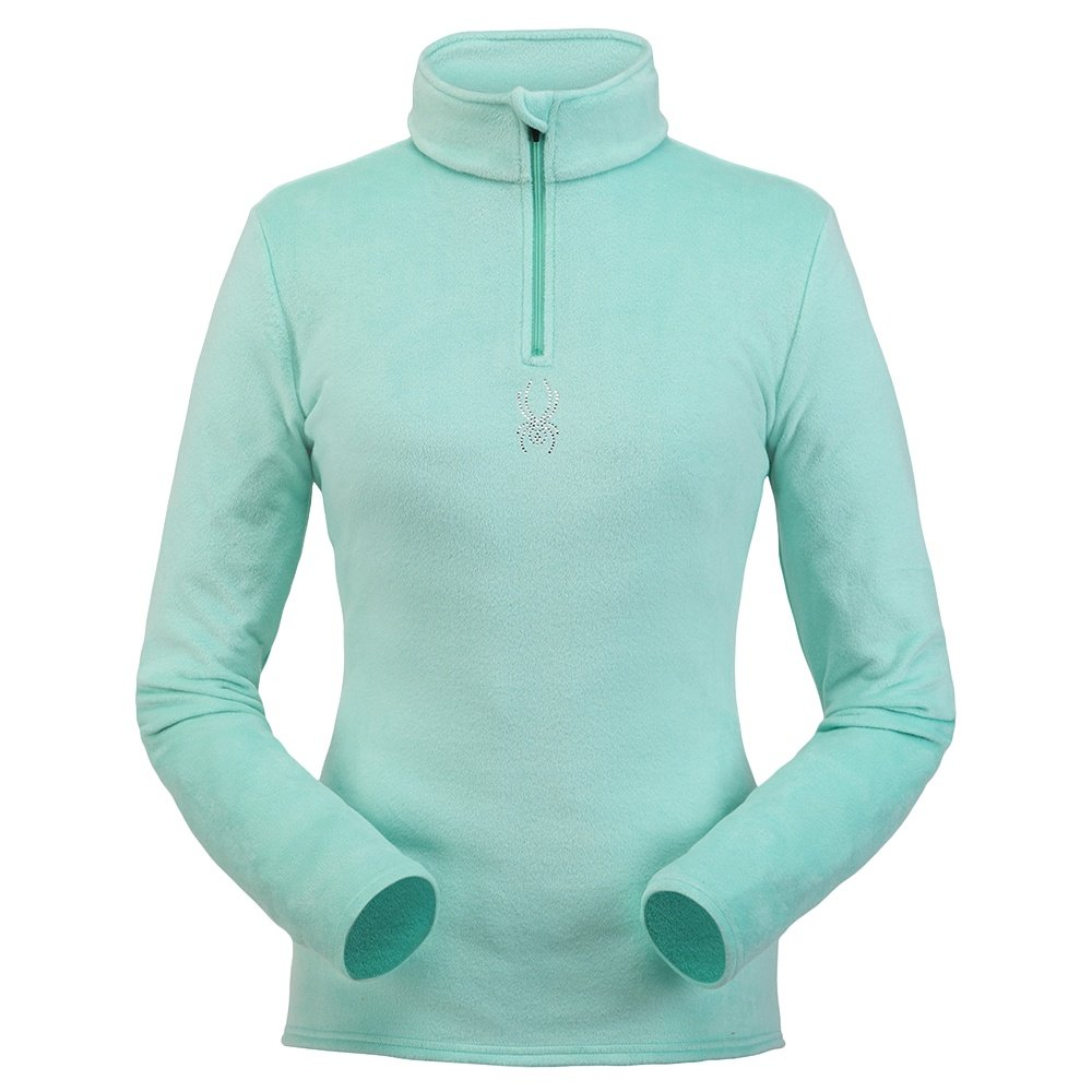Spyder Shimmer Bug 1/4-Zip Turtleneck Mid-Layer (Women's) - Vintage