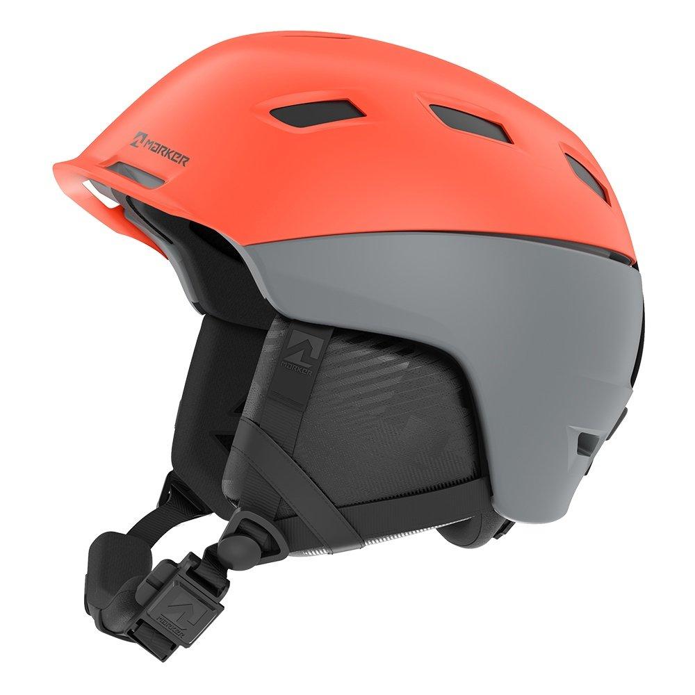 Marker Ampire Helmet (Men's) - Grey/Infrared