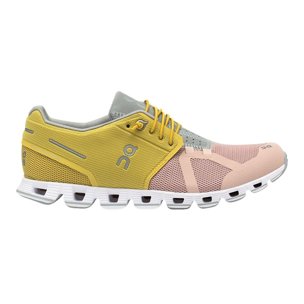 ON Cloud 50   50 Running Shoe (Women's) - Mustard/Rose