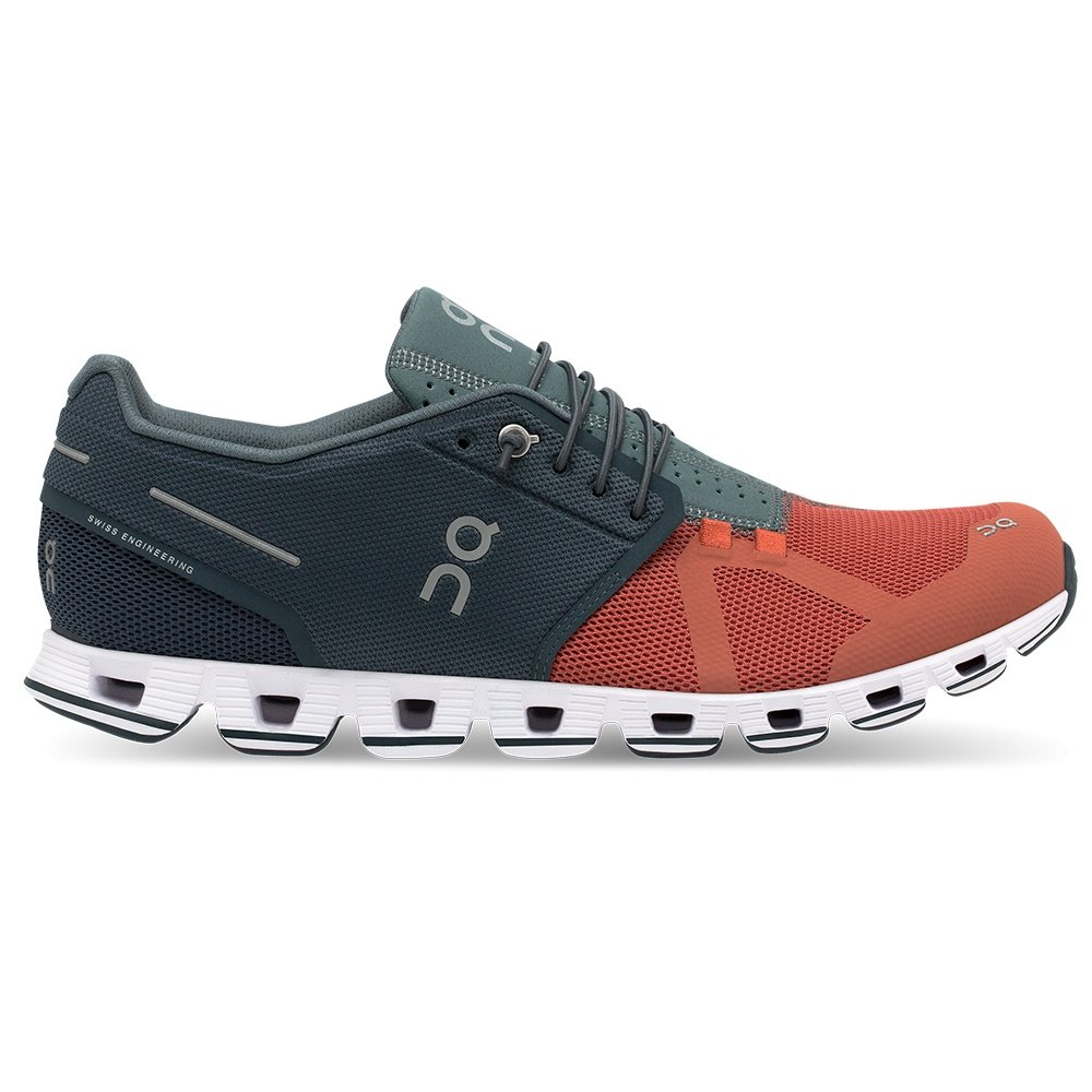 ON Cloud 50 | 50 Running Shoe (Men's) - Rust/Smoke