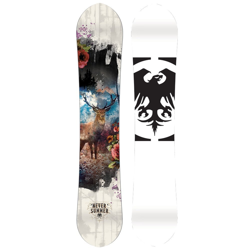 Never Summer Lady West Snowboard (Women's) - 151