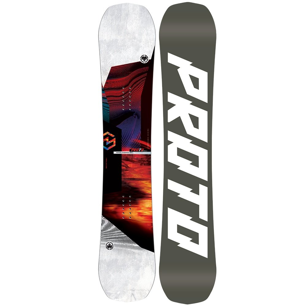 Never Summer Proto Type Two X Wide Snowboard (Men's) - 158