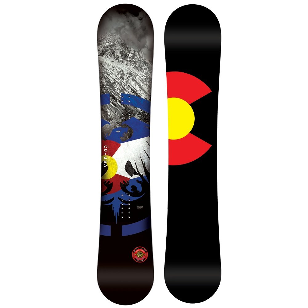 Never Summer Heritage Snowboard (Men's) - 158
