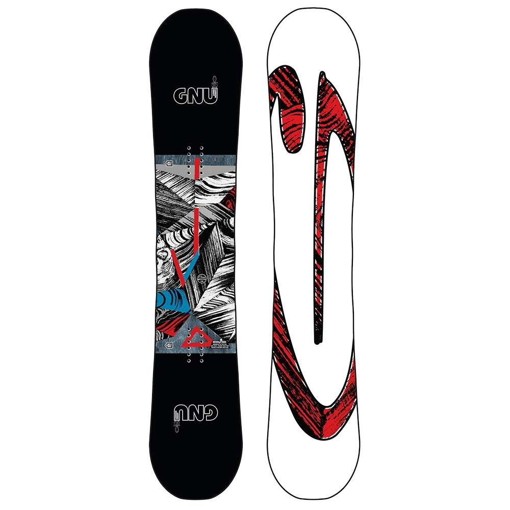 Gnu Asym Carbon Credit Snowboard (Men's) - 153