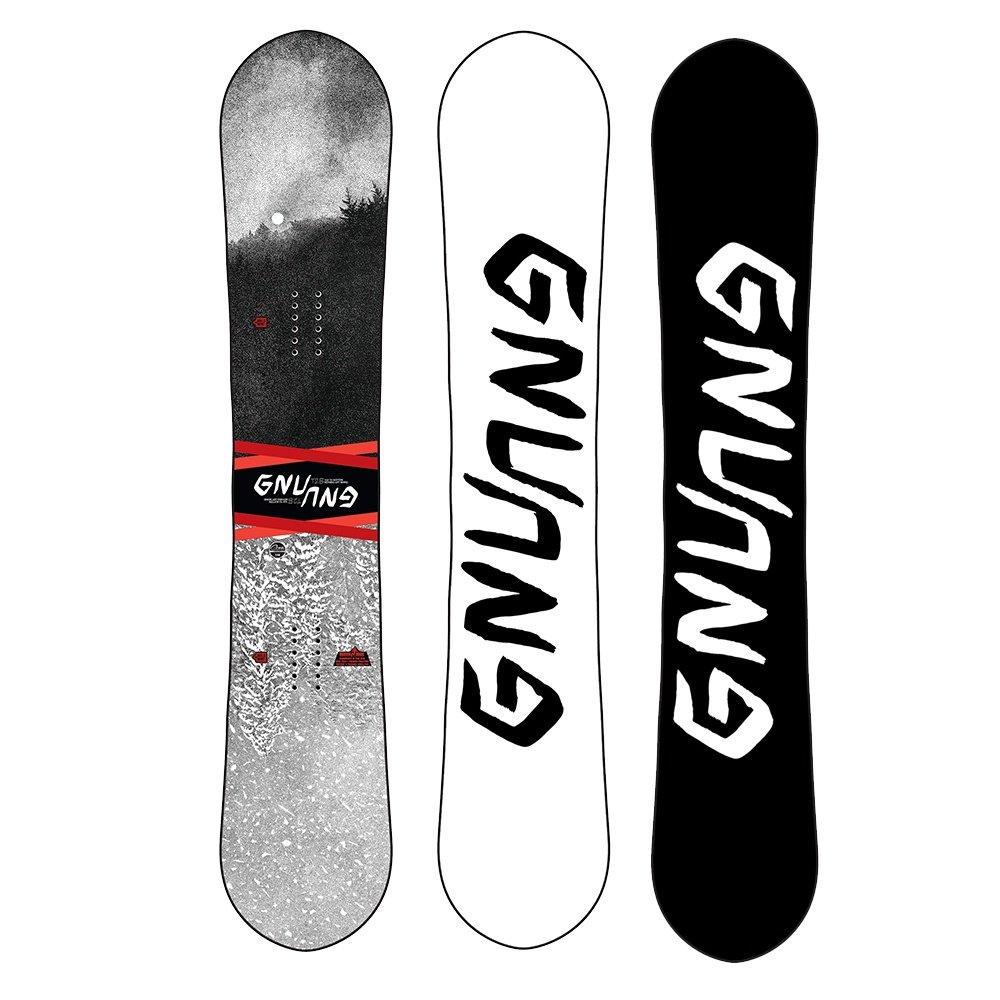 Gnu Asym T2B Mid-Wide Snowboard (Men's) - 162