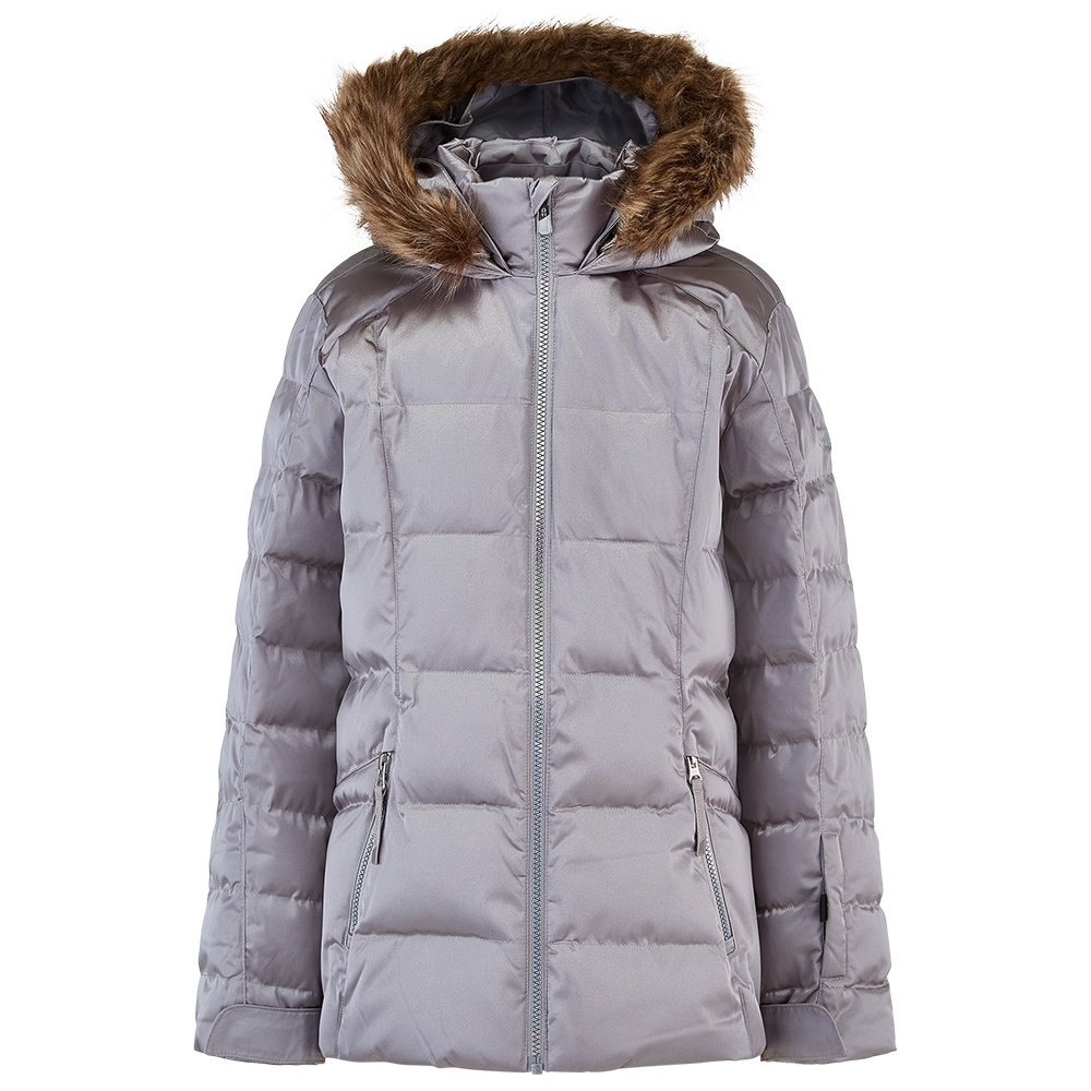 Spyder Atlas Synthetic Down Ski Jacket (Girls') - Silver