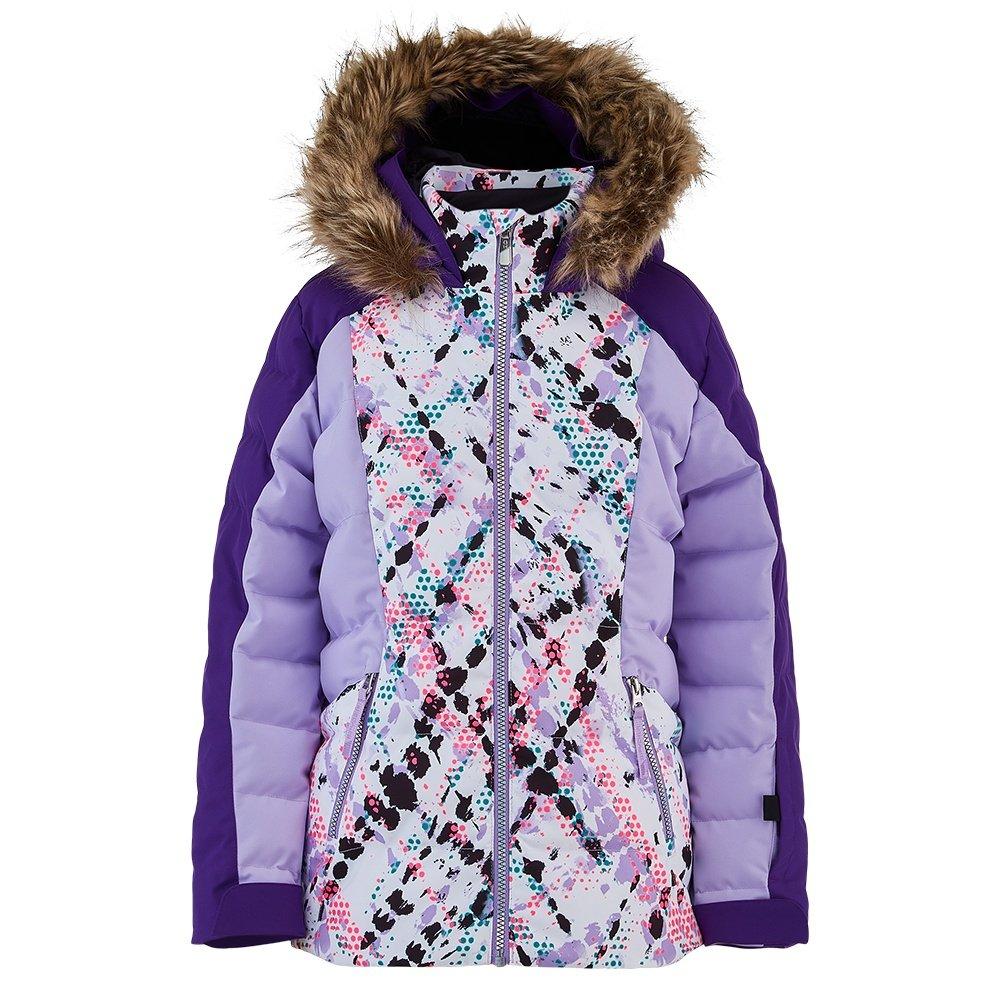 Spyder Atlas Synthetic Down Ski Jacket (Girls') - Impress Print