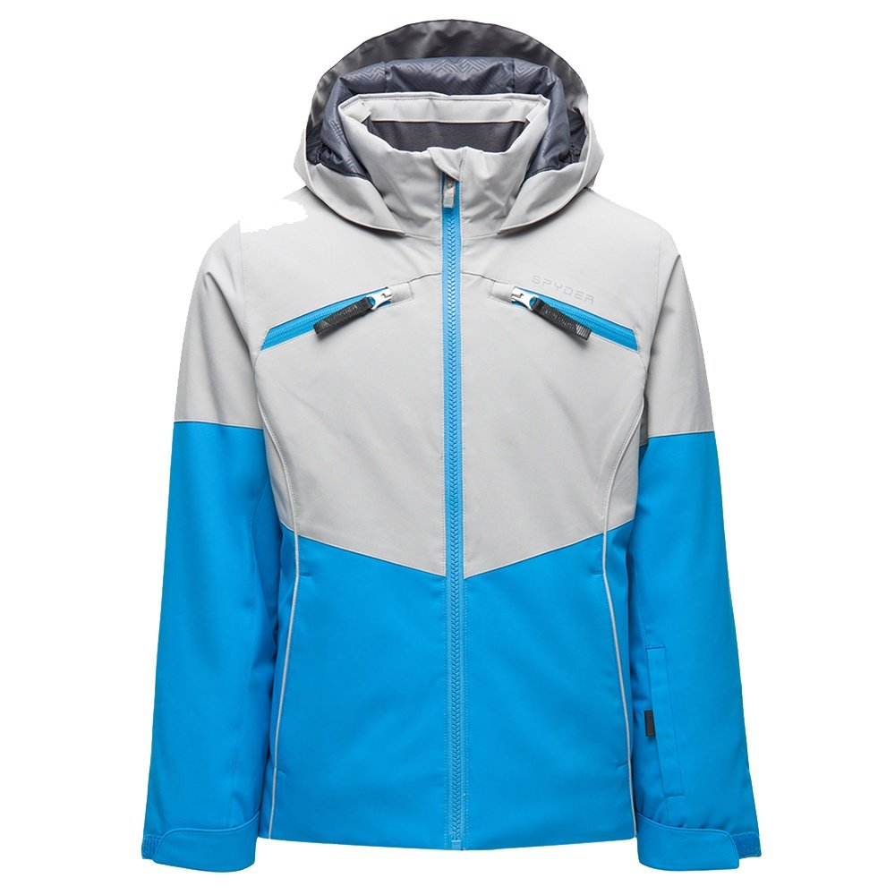 Spyder Conquer Insulated Ski Jacket (Girls') - Lagoon
