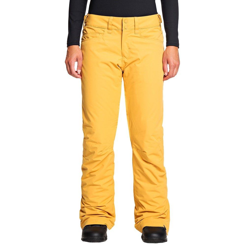 Roxy Backyard Insulated Snowboard Pant (Women's) - Spruce Yellow