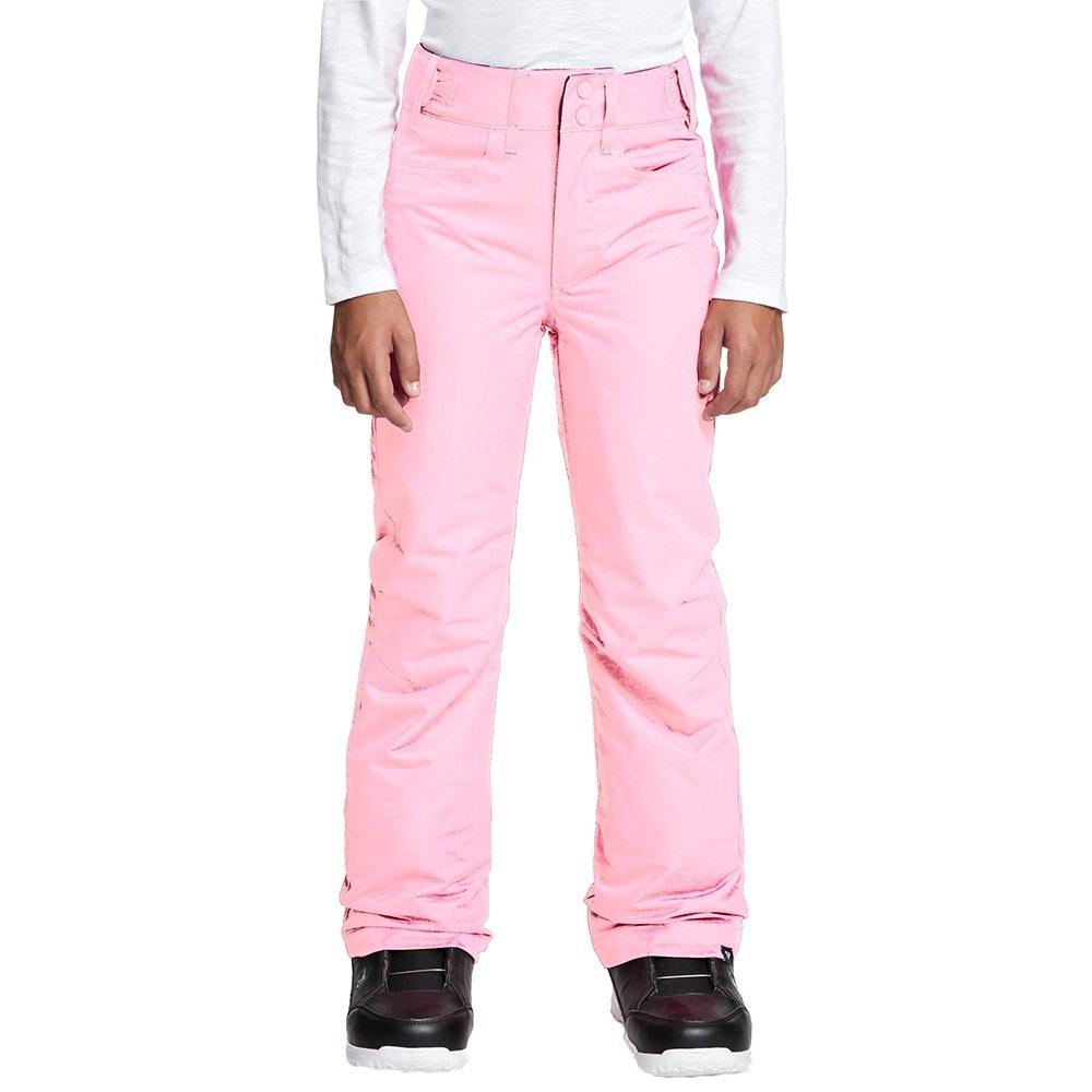 Roxy Backyard Insulated Snowboard Pant (Girls') - Prism Pink