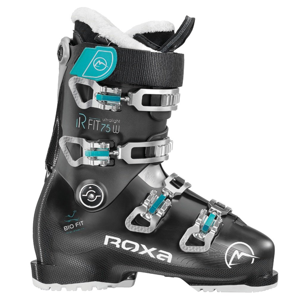 Roxa R FIT 75 Ski Boot (Women's) - Black/Black